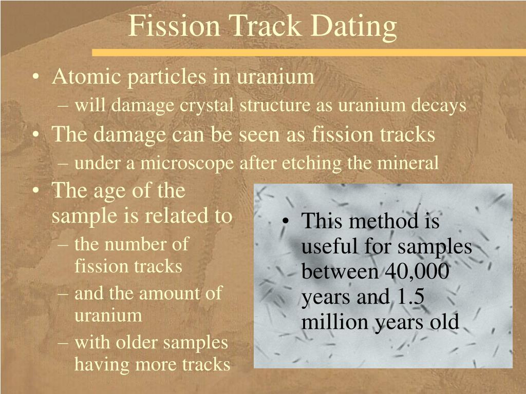 Fission Track Dating