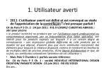 1 utilisateur averti5