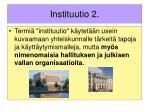 instituutio 2