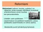 reformismi