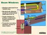 beam windows