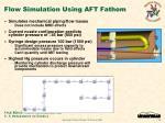 flow simulation using aft fathom