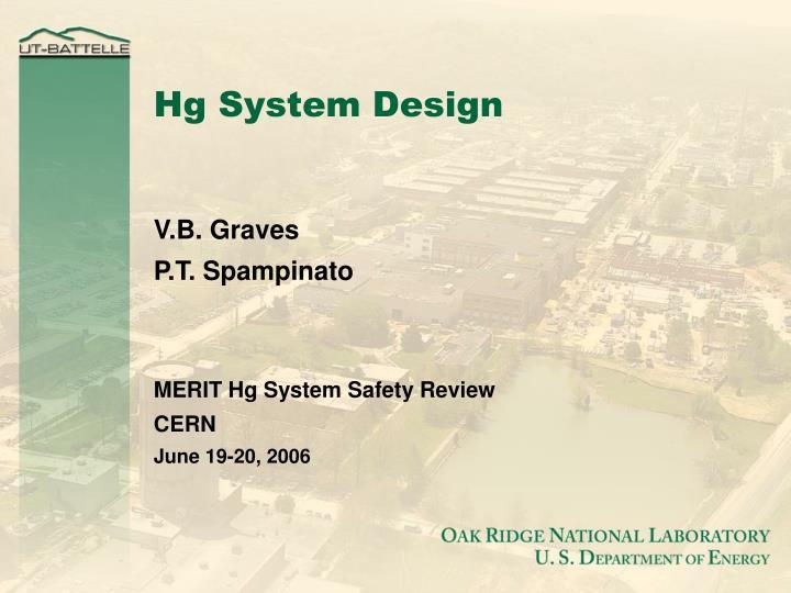 hg system design n.