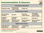 instrumentation sensors