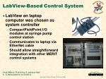 labview based control system