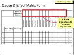 cause effect matrix form1