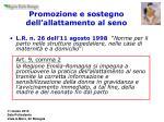 promozione e sostegno dell allattamento al seno2