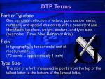 dtp terms10
