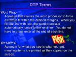 dtp terms13