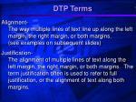 dtp terms5
