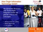 atos origin information technology gmbh