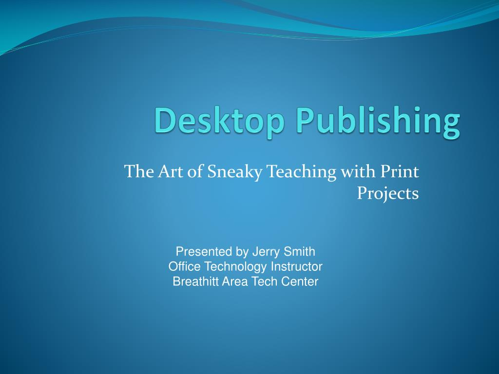 desktop publishing l.