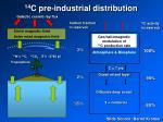 14 c pre industrial distribution