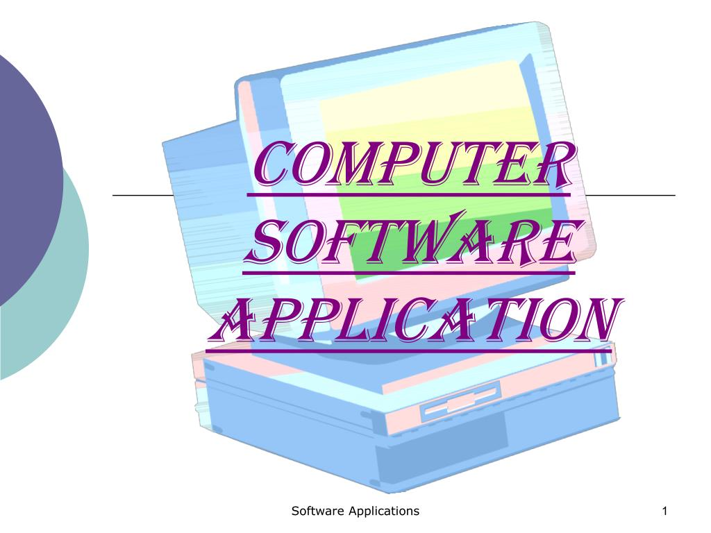 computer software application l.