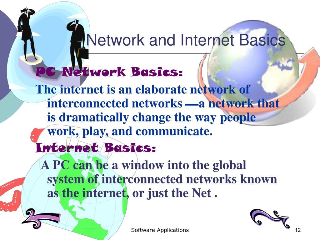 Network and Internet Basics