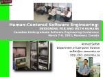 ahmed seffah department of computer science seffah@cs concordia ca http hci concordia ca