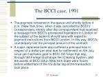 the bcci case 199118