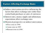 factors affecting exchange rates15