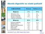 abords digestifs au stade palliatif1