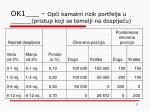 ok1 op i kamatni rizik portfelja u pristup koji se temelji na dospije u