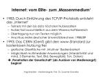 internet vom elite zum massenmedium