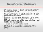 current state of stroke care