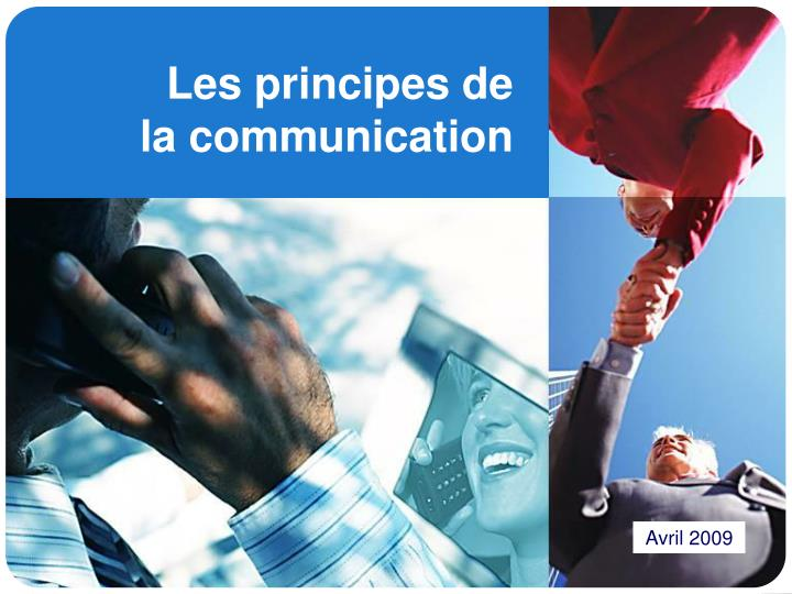 les principes de la communication n.