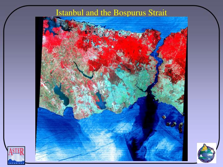 Istanbul and the Bospurus Strait