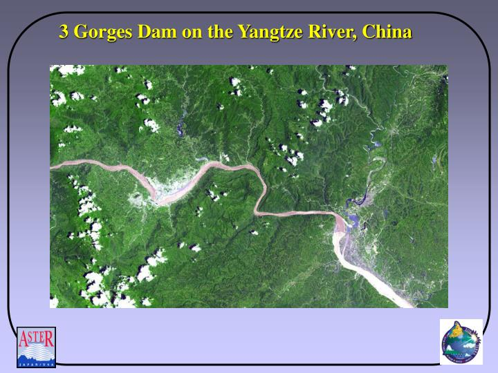 3 Gorges Dam on the Yangtze River, China
