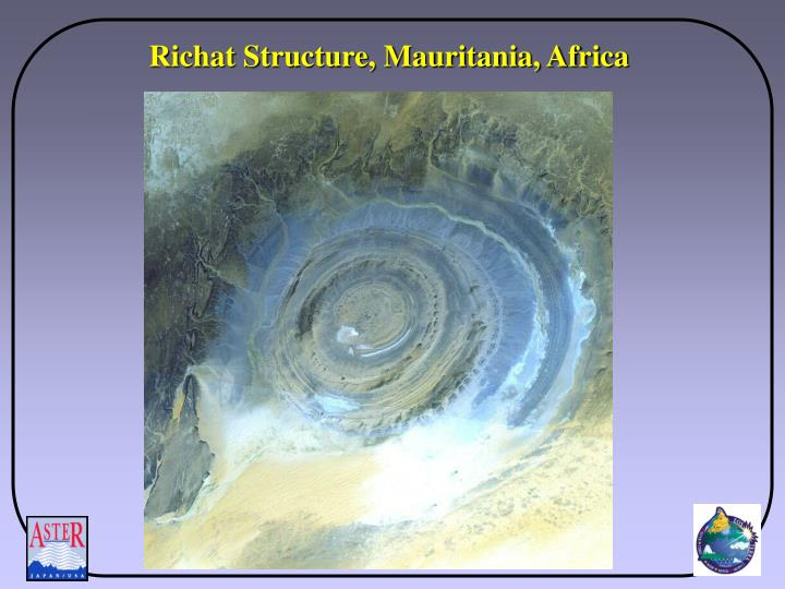 Richat Structure, Mauritania, Africa