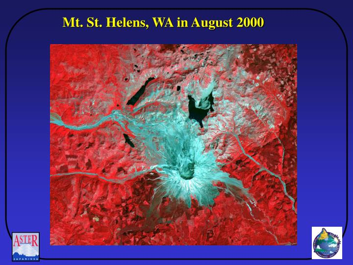 Mt. St. Helens, WA in August 2000