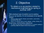 2 objective