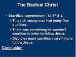 the radical christ12