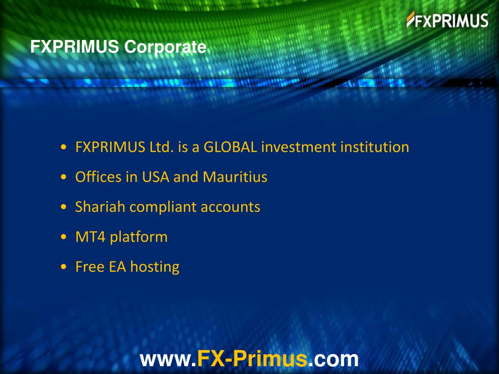 FXPRIMUS Corporate
