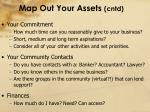 map out your assets cntd