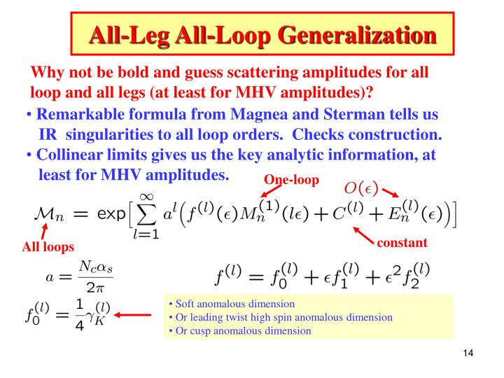 All-Leg All-Loop Generalization