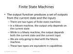 finite state machines1