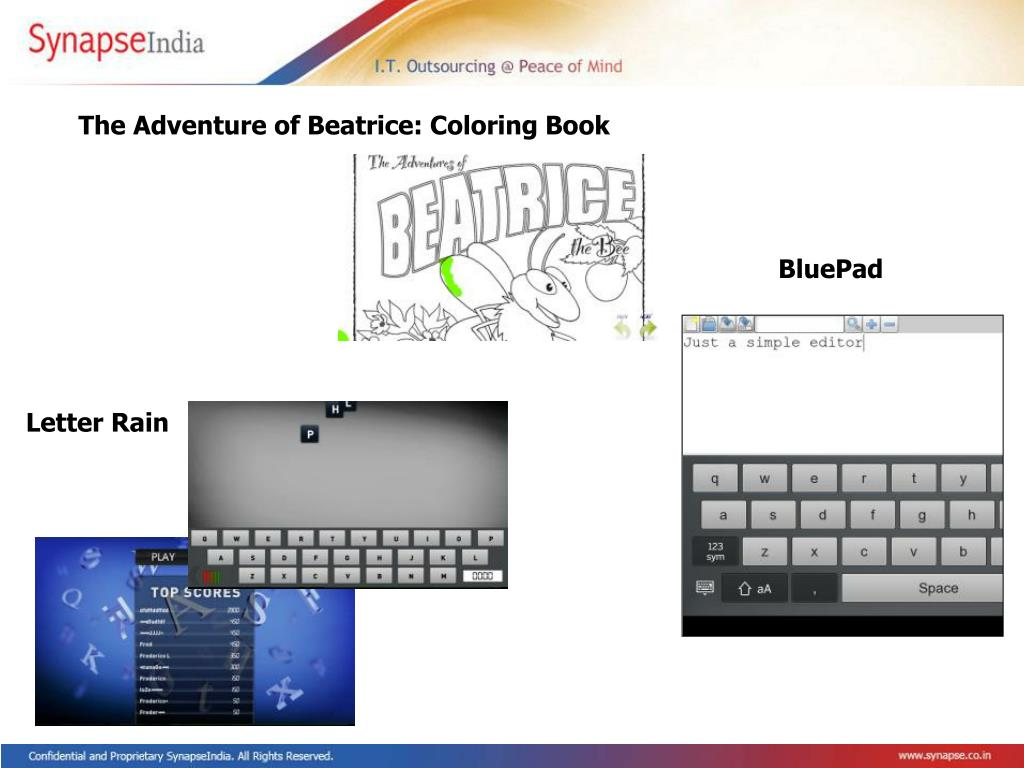 The Adventure of Beatrice: Coloring Book