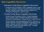 new capability structures