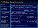 platinum study organization