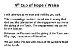 4 th cup of hope praise