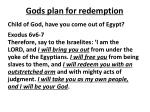 gods plan for redemption