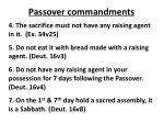 passover commandments1
