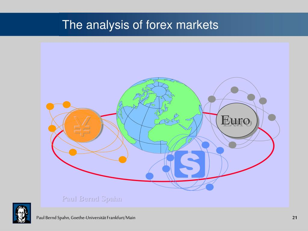 The analysis of forex markets