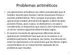 problemas aritm ticos