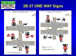 2b 37 one way signs2