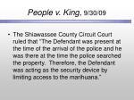 people v king 9 30 09