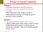 rounds of neural computing