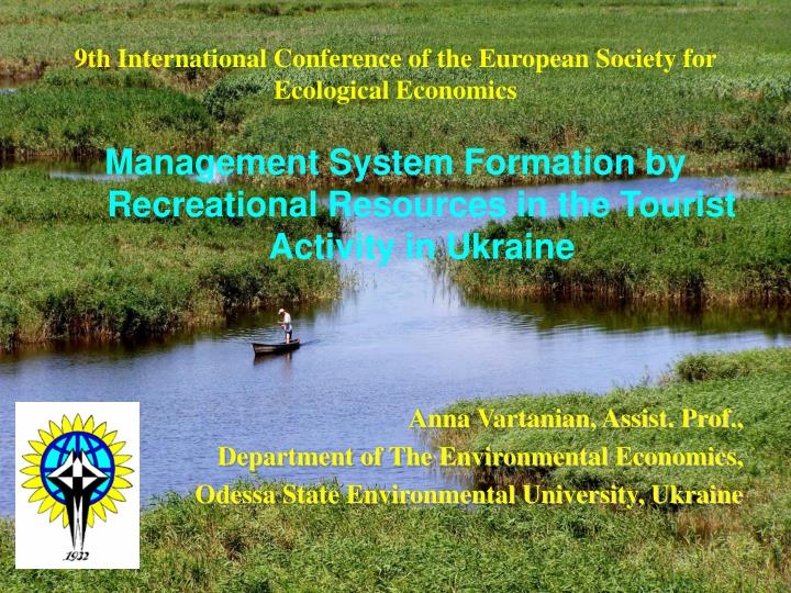 9th international conference of the european society for ecological economics n.