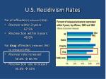 u s recidivism rates